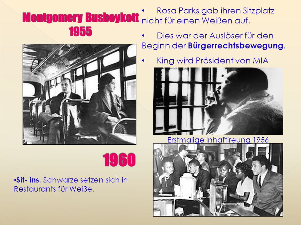 Montgomery Busboykott 1955