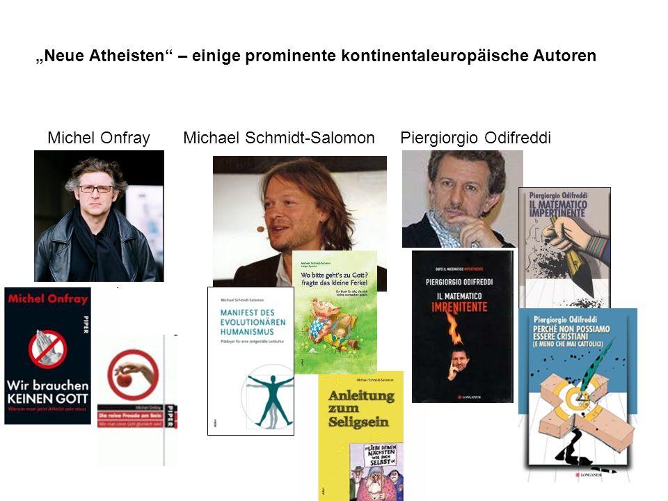 """""""Neue Atheisten – einige prominente kontinentaleuropäische Autoren"""
