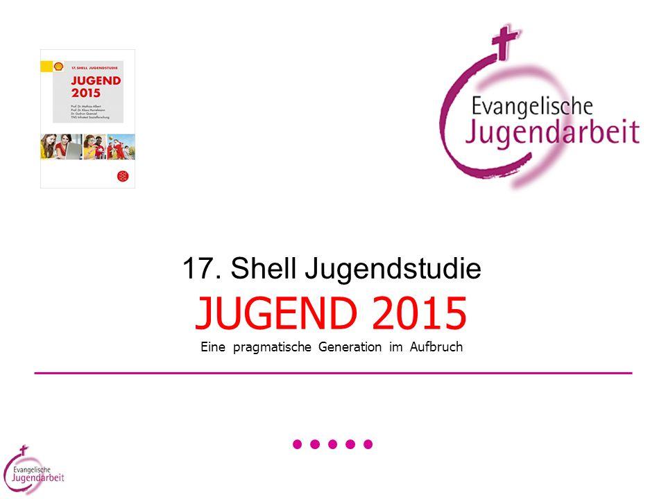 17. Shell Jugendstudie JUGEND 2015 Eine pragmatische Generation im Aufbruch