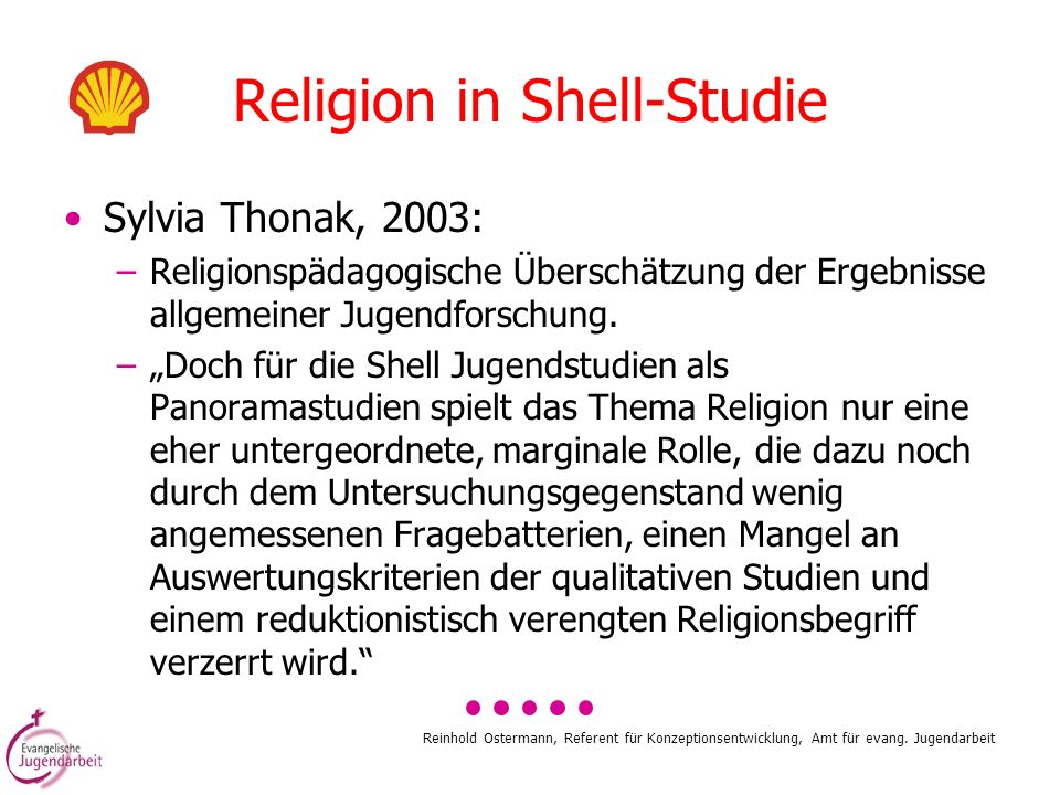 Religion in Shell-Studie