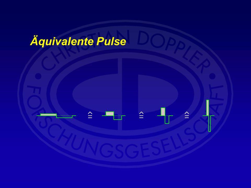 Äquivalente Pulse