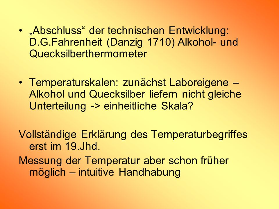 """""""Abschluss der technischen Entwicklung: D. G"""