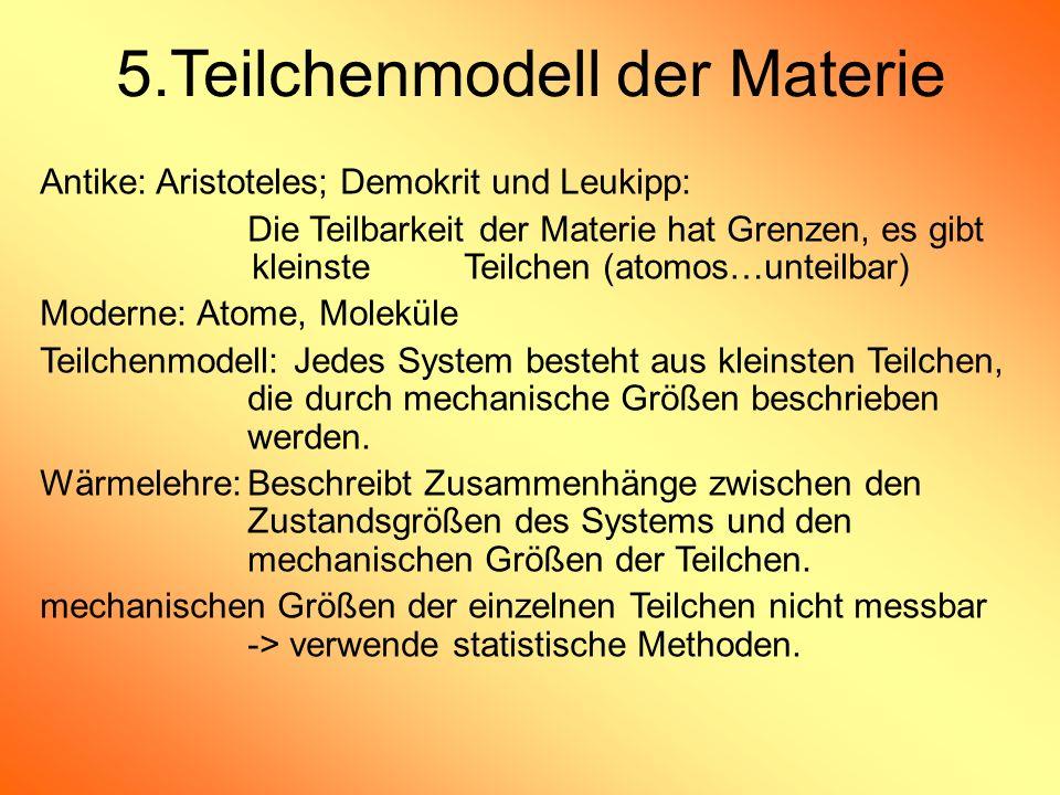 5.Teilchenmodell der Materie