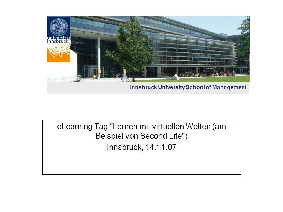 Universität Innsbruck Virtuell
