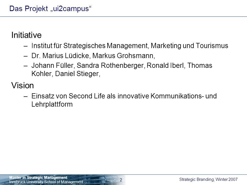 "Das Projekt ""ui2campus"