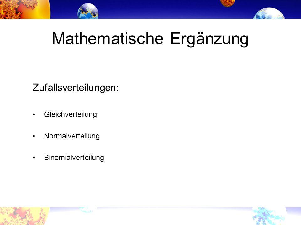 Mathematische Ergänzung