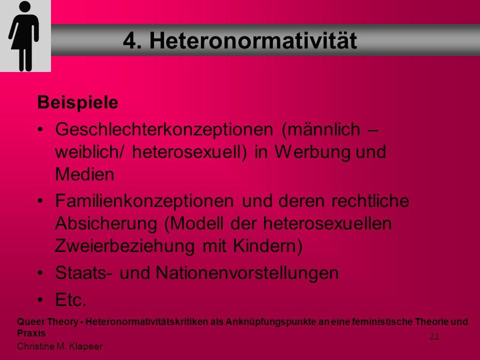 4. Heteronormativität Beispiele