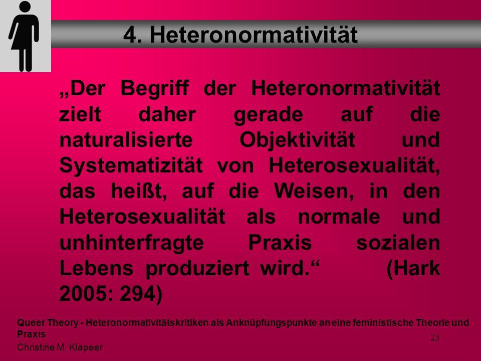 4. Heteronormativität