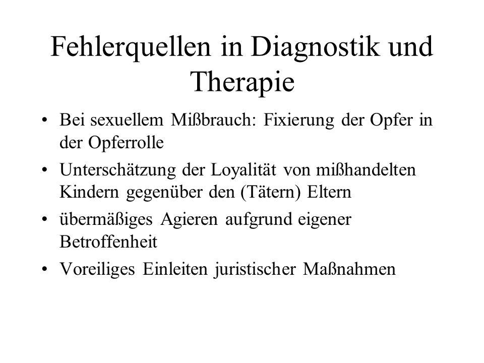 Fehlerquellen in Diagnostik und Therapie