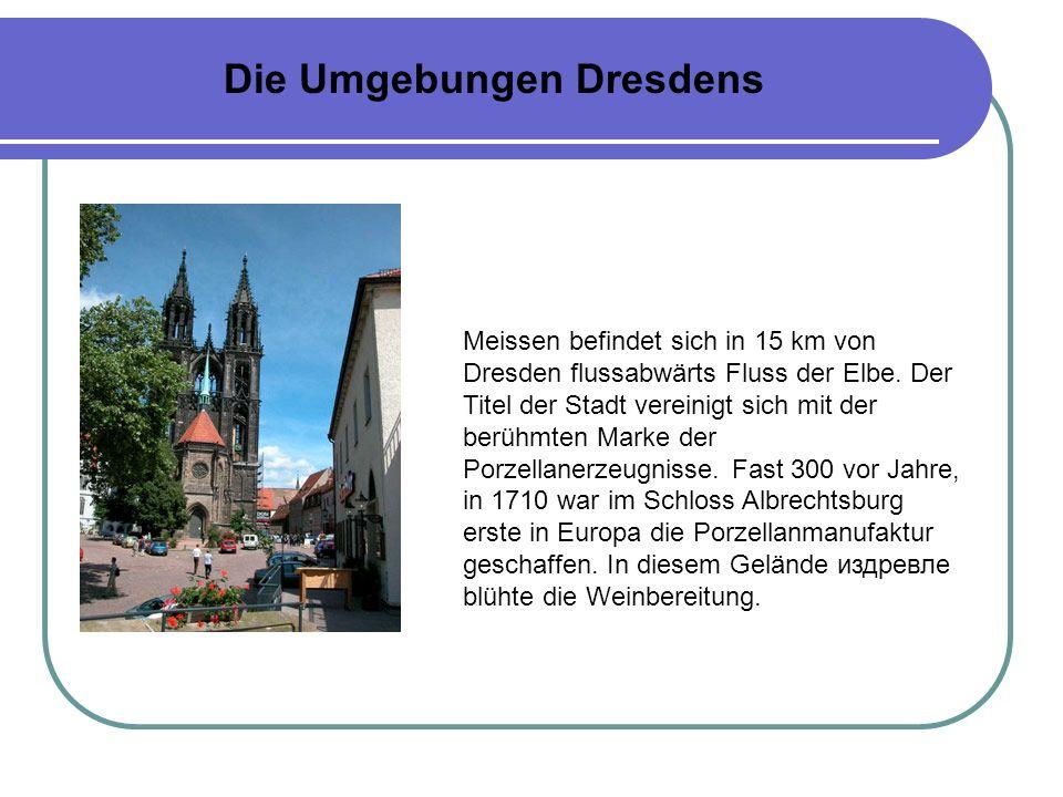 Die Umgebungen Dresdens
