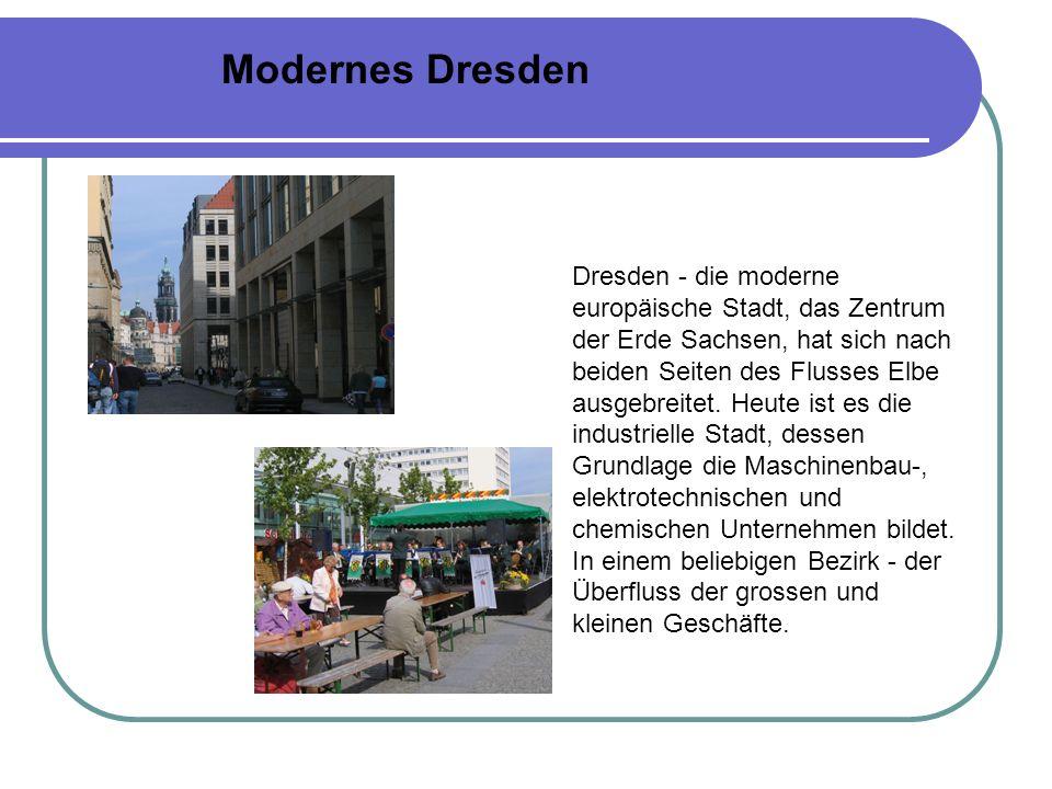 Modernes Dresden