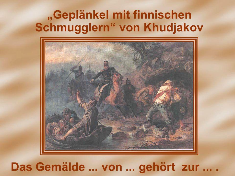 """""""Geplänkel mit finnischen Schmugglern von Khudjakov"""