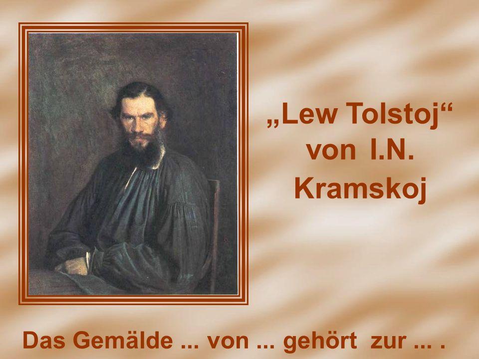 """Lew Tolstoj von I.N. Kramskoj"
