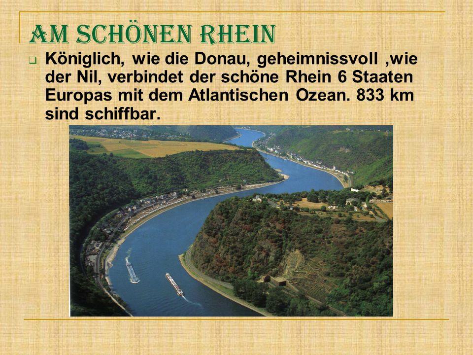 Am schönen Rhein