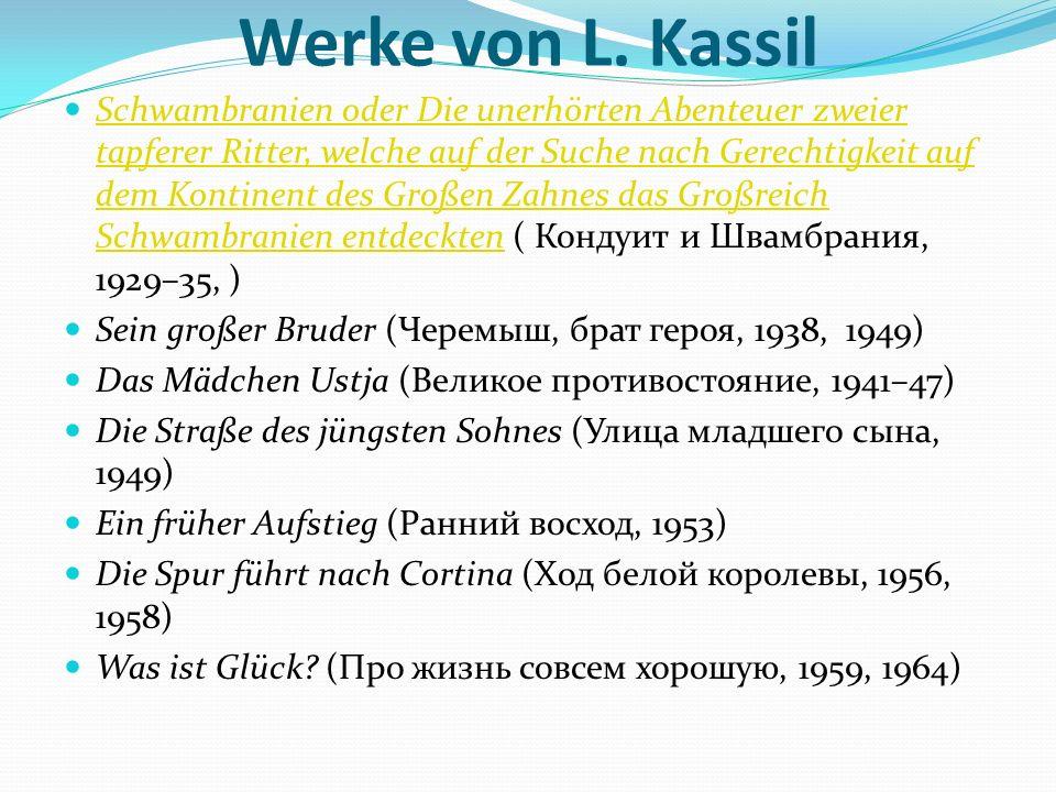 Werke von L. Kassil