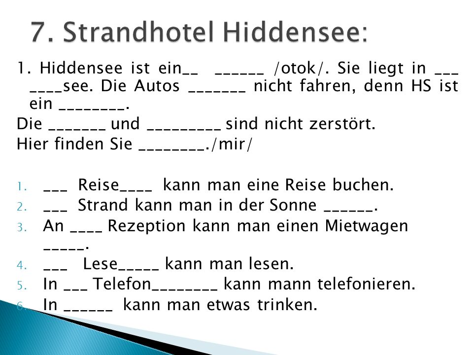 7. Strandhotel Hiddensee: