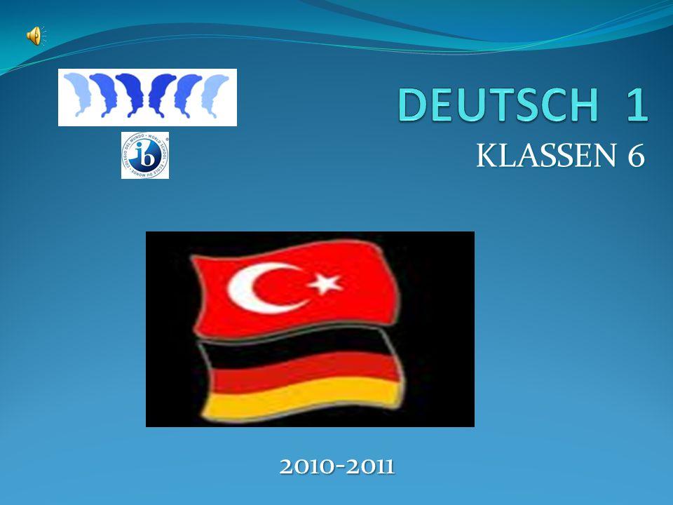 DEUTSCH 1 KLASSEN 6 2010-2011
