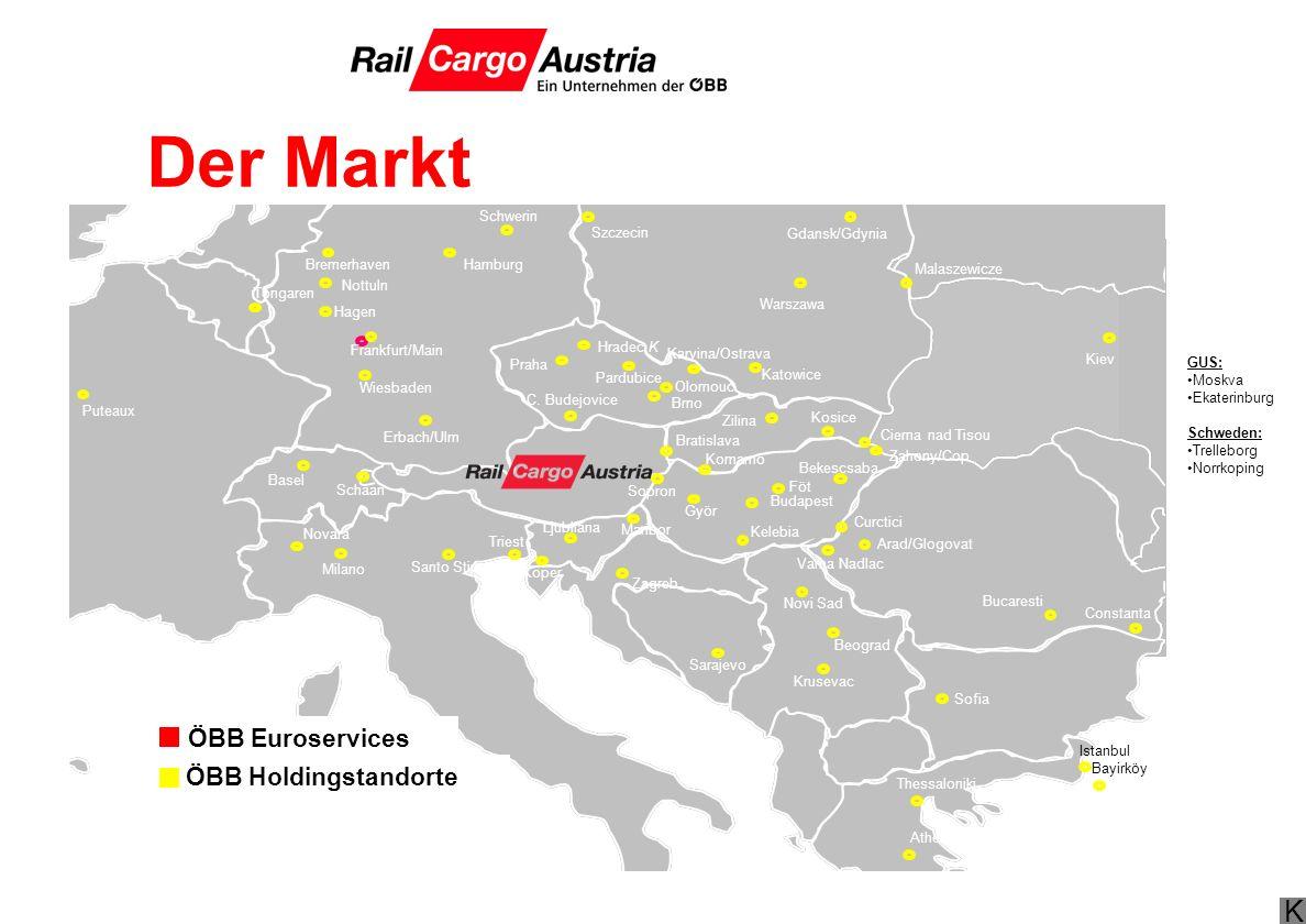 Der Markt ÖBB Euroservices ÖBB Holdingstandorte 28.03.2017 Schwerin