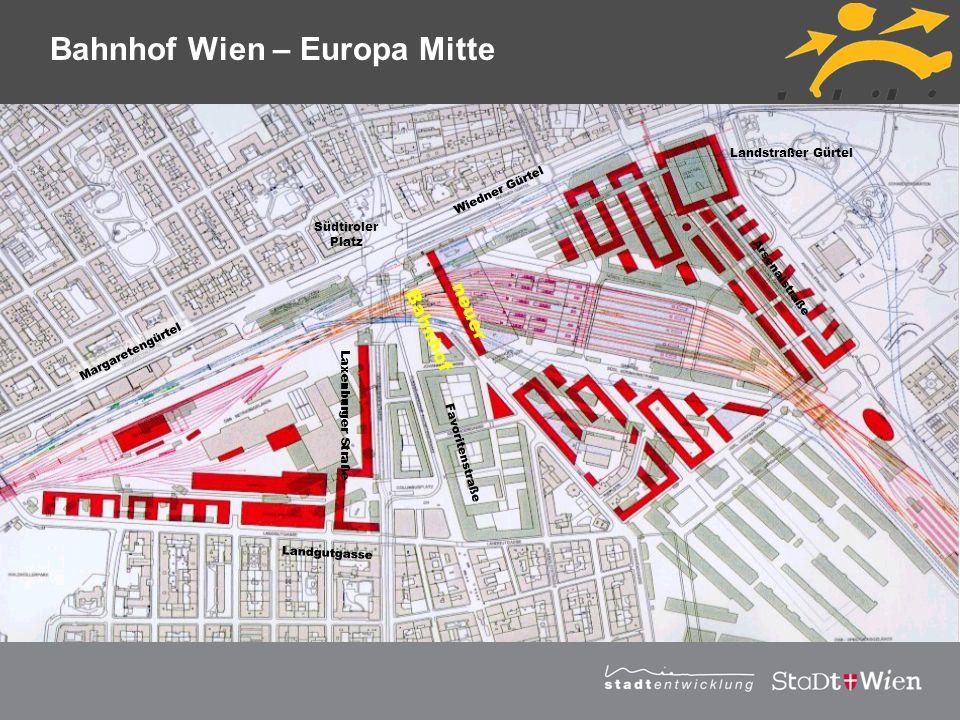 Bahnhof Wien – Europa Mitte