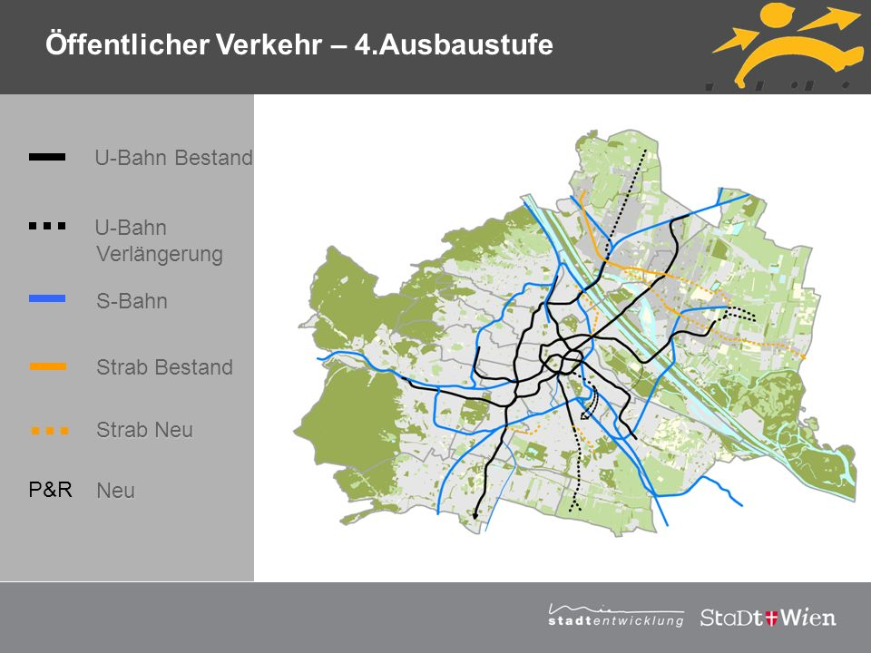 Öffentlicher Verkehr – 4.Ausbaustufe