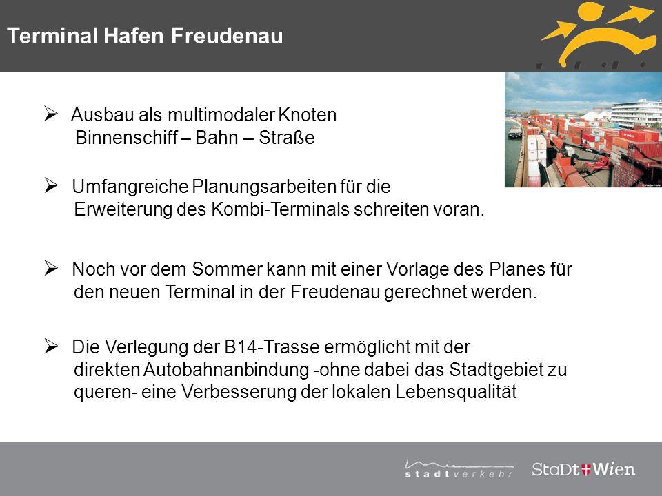 Terminal Hafen Freudenau