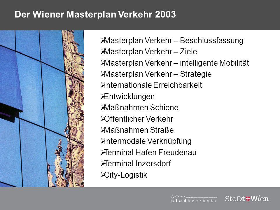 Der Wiener Masterplan Verkehr 2003