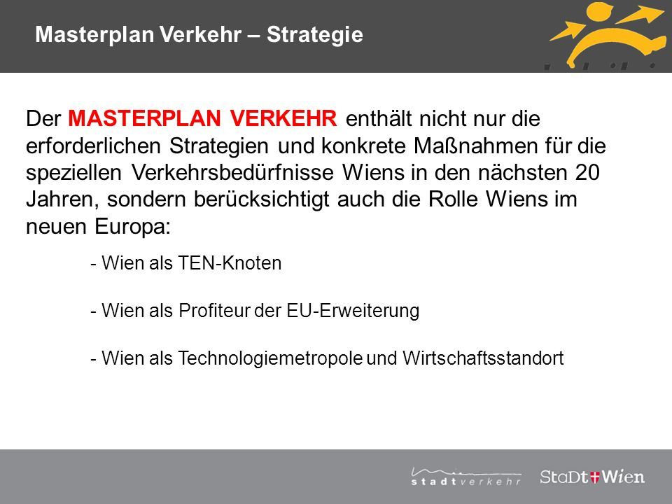 Masterplan Verkehr – Strategie