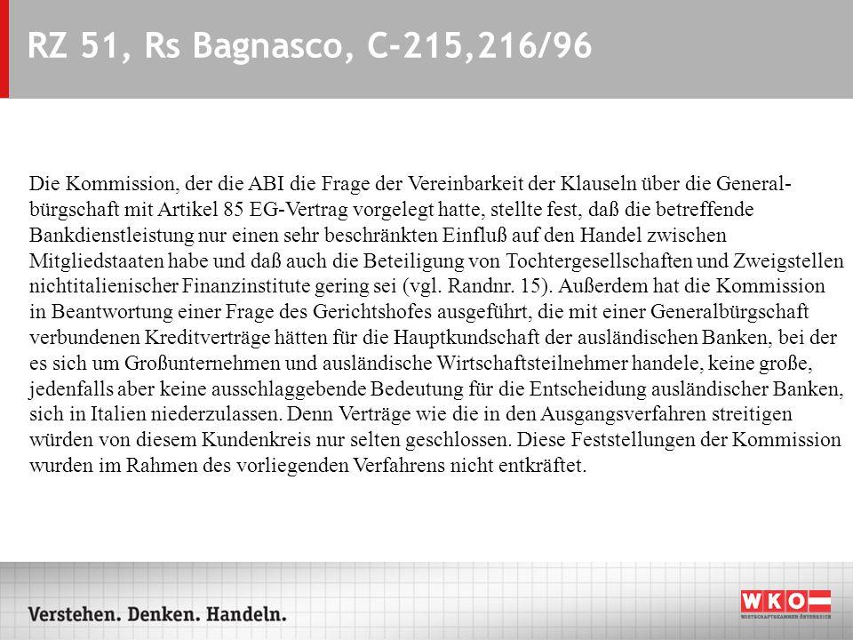 ARS - 07.09.2004 RZ 51, Rs Bagnasco, C-215,216/96.