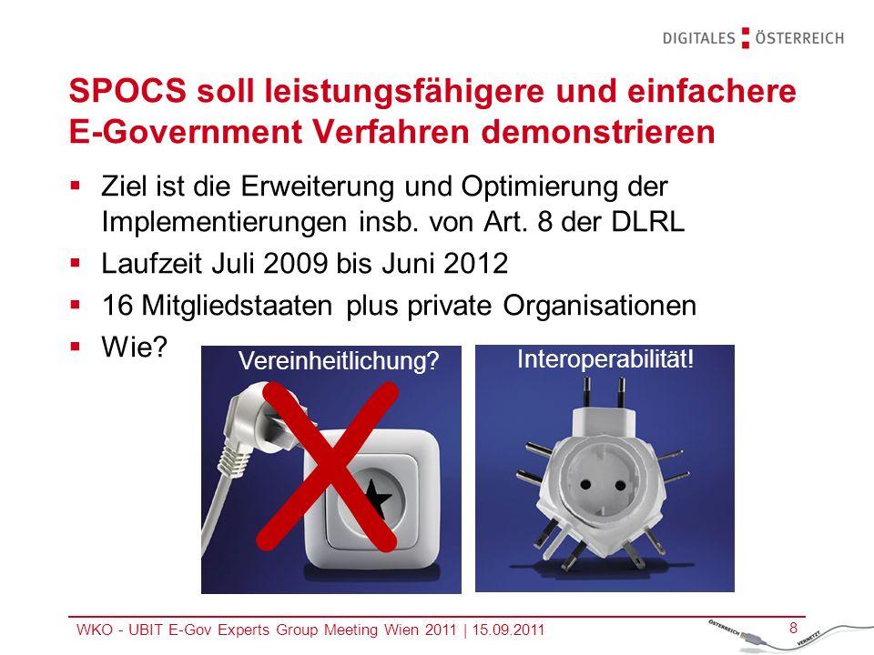 SPOCS soll leistungsfähigere und einfachere E-Government Verfahren demonstrieren
