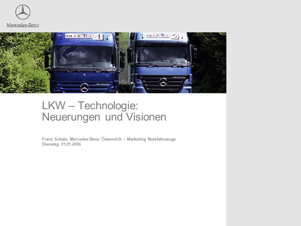 LKW – Technologie: Neuerungen und Visionen