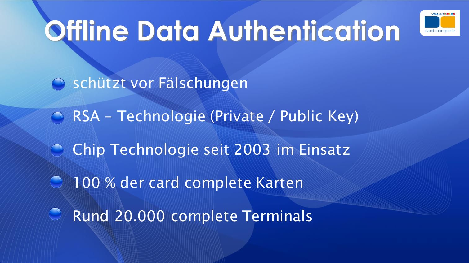 Offline Data Authentication