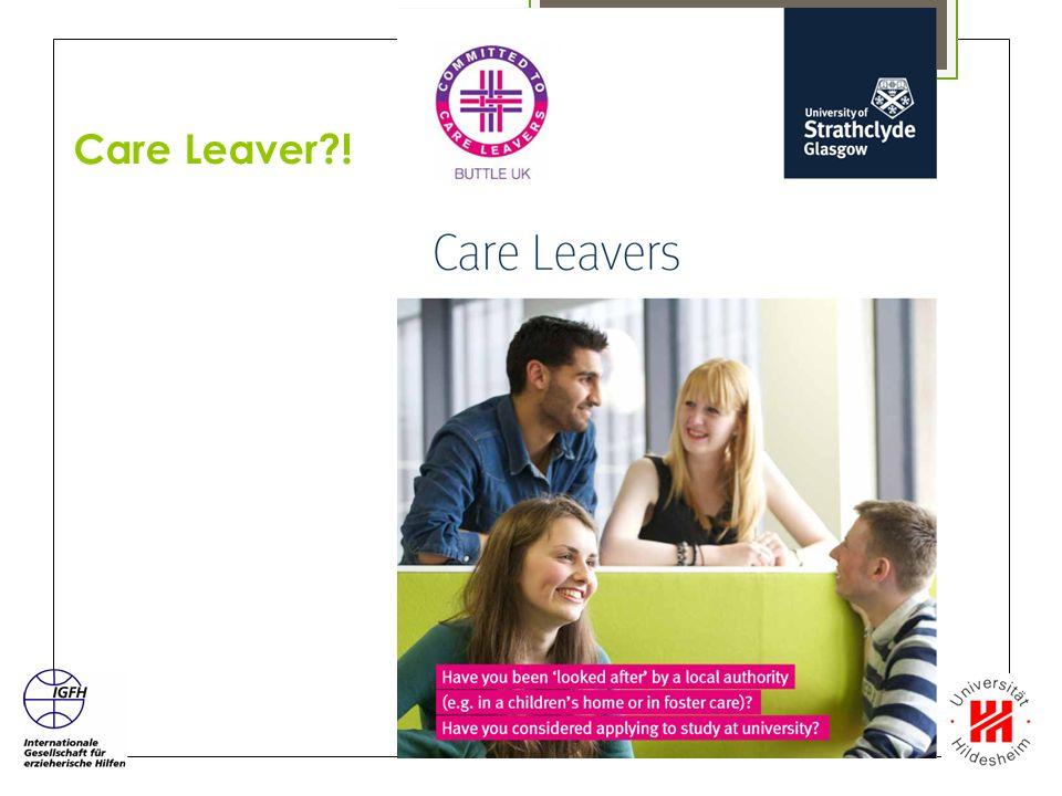 Care Leaver !