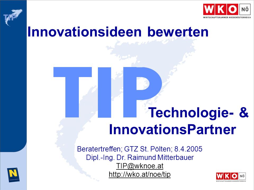 Innovationsideen bewerten