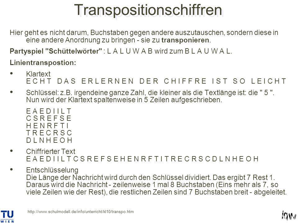 Transpositionschiffren
