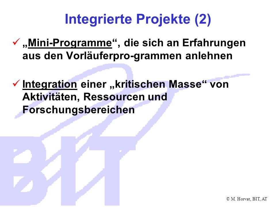 Integrierte Projekte (2)