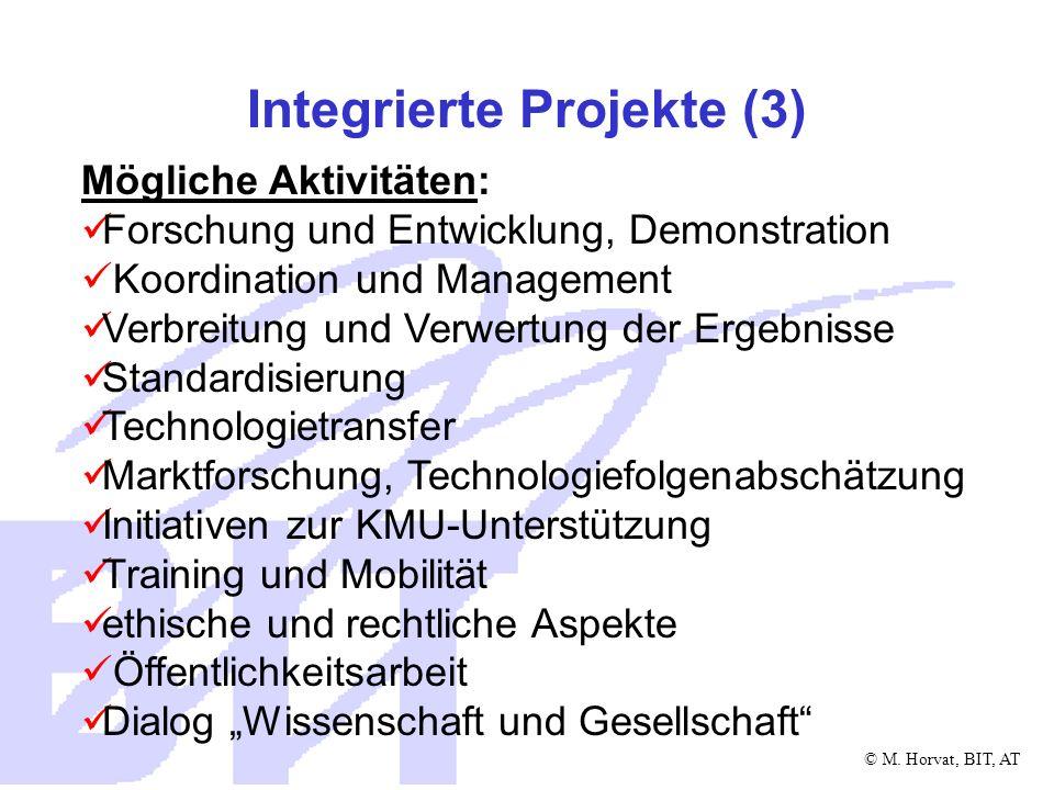 Integrierte Projekte (3)
