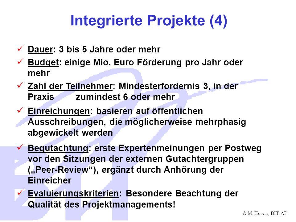 Integrierte Projekte (4)