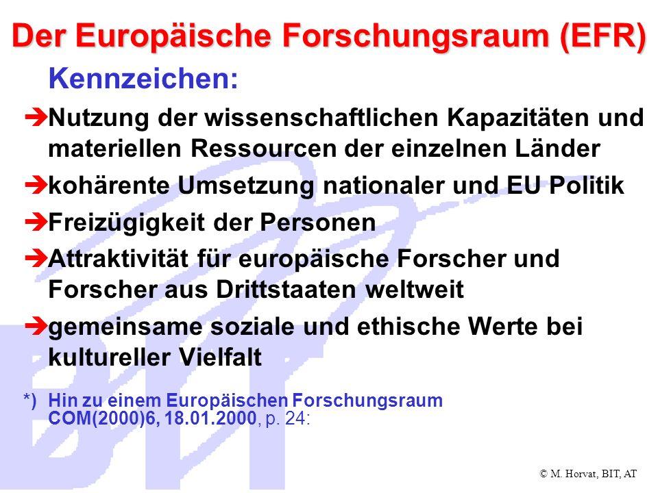 Der Europäische Forschungsraum (EFR)