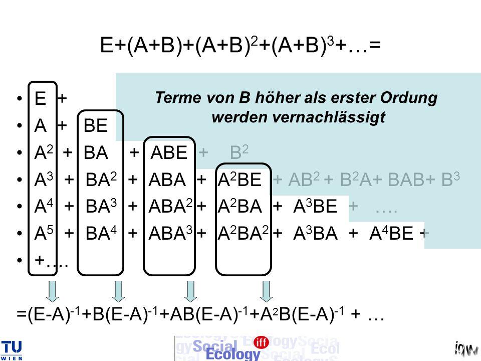 E+(A+B)+(A+B)2+(A+B)3+…=