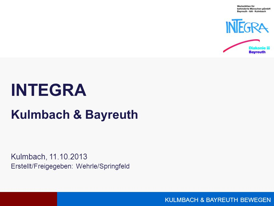 INTEGRA Kulmbach & Bayreuth