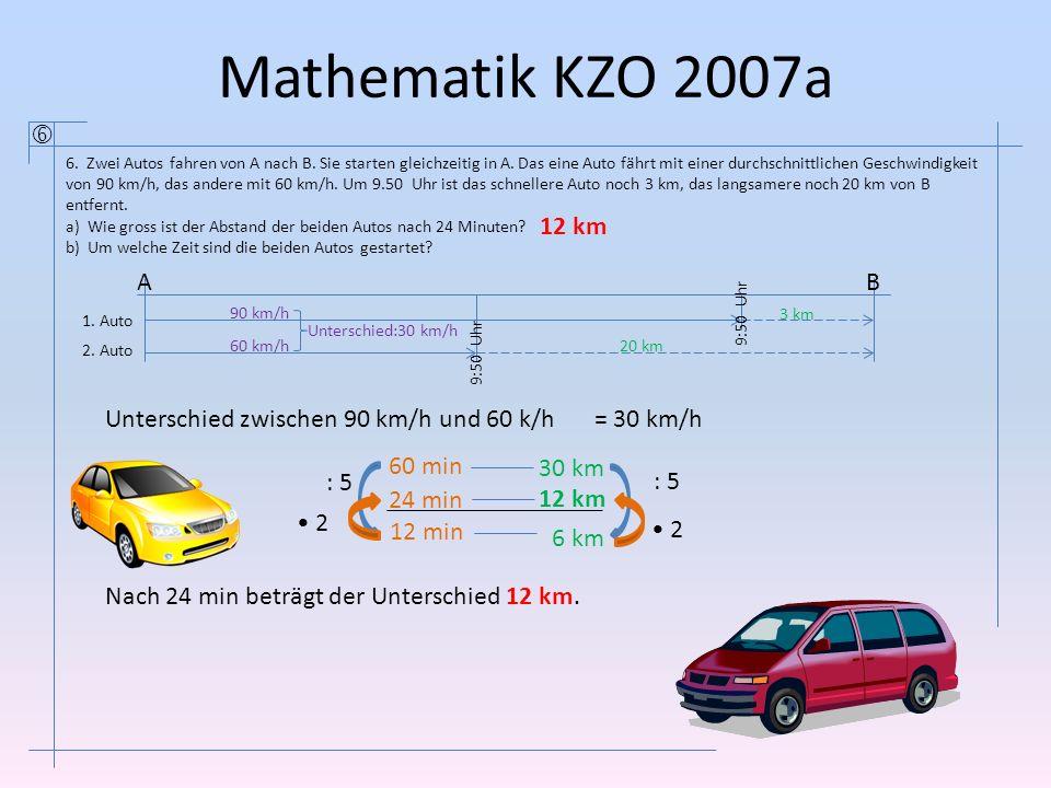 Mathematik KZO 2007a 