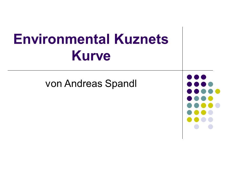 Environmental Kuznets Kurve