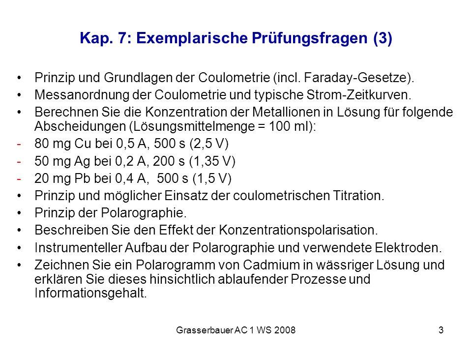Kap. 7: Exemplarische Prüfungsfragen (3)
