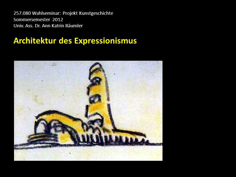 Architektur des Expressionismus