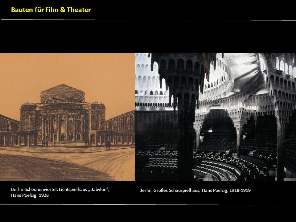 Bauten für Film & Theater