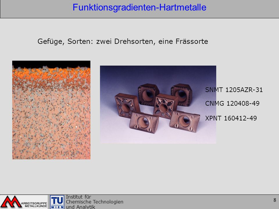 Funktionsgradienten-Hartmetalle