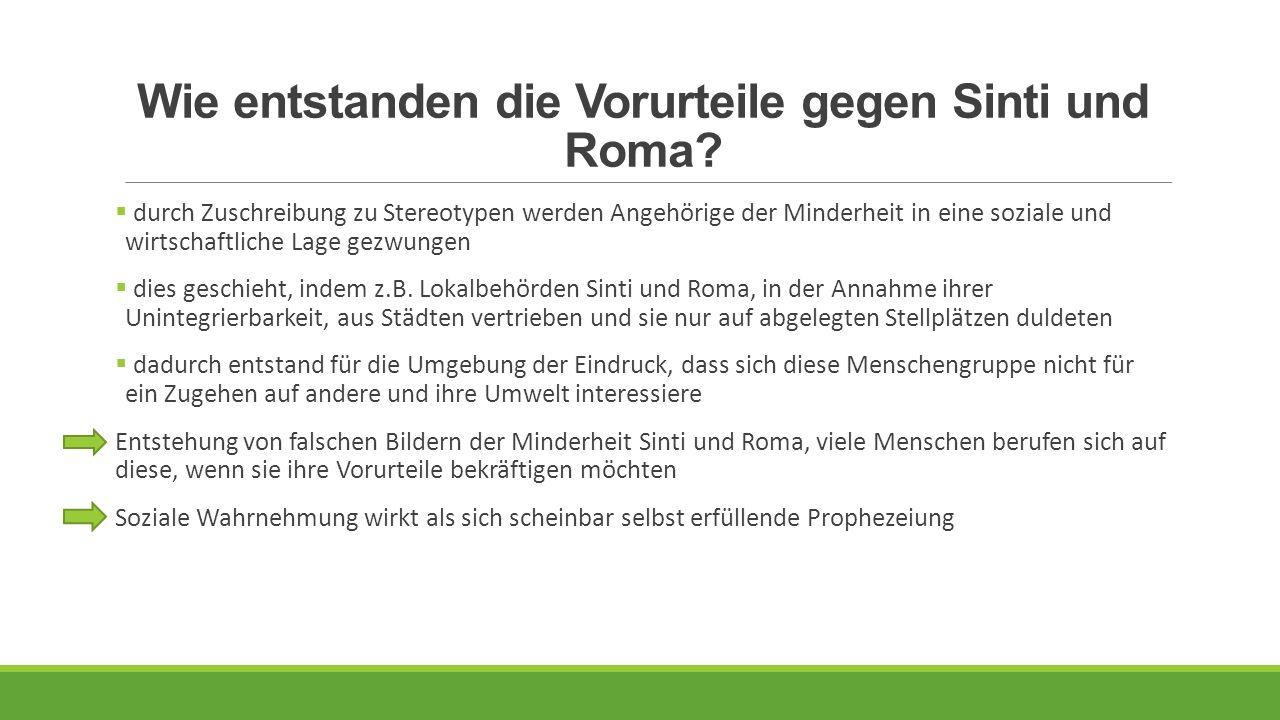Wie entstanden die Vorurteile gegen Sinti und Roma