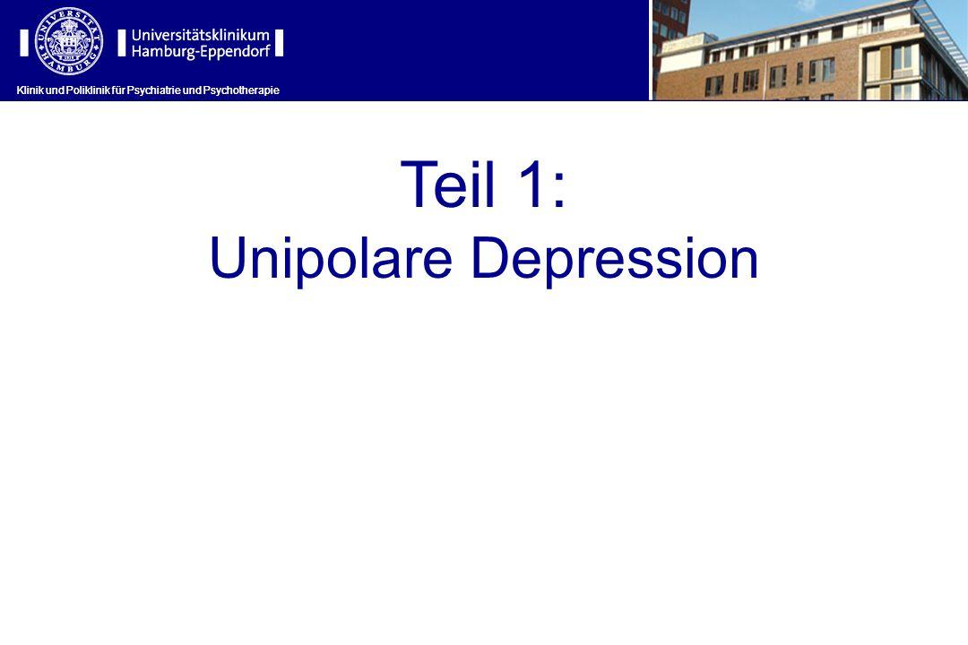 Teil 1: Unipolare Depression