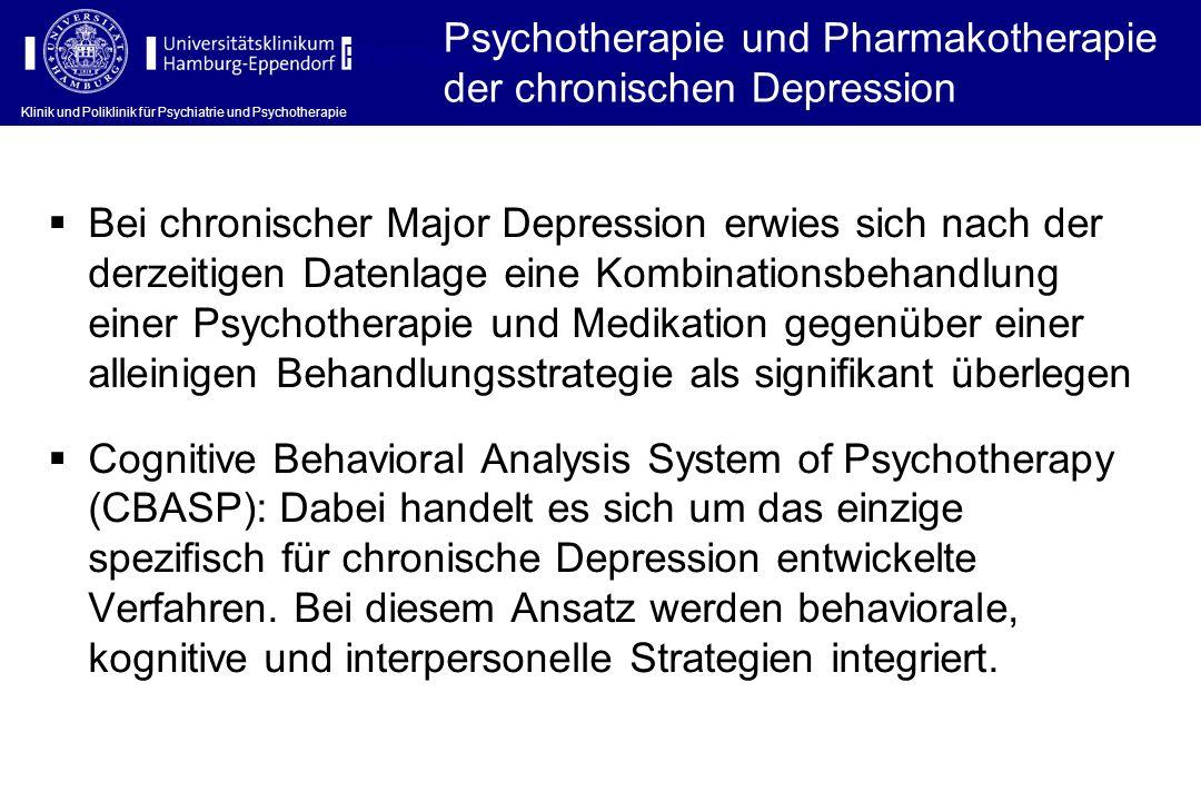 Pharmakotherapie und Psychotherapie