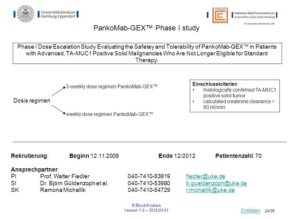 PankoMab-GEX™ Phase I study